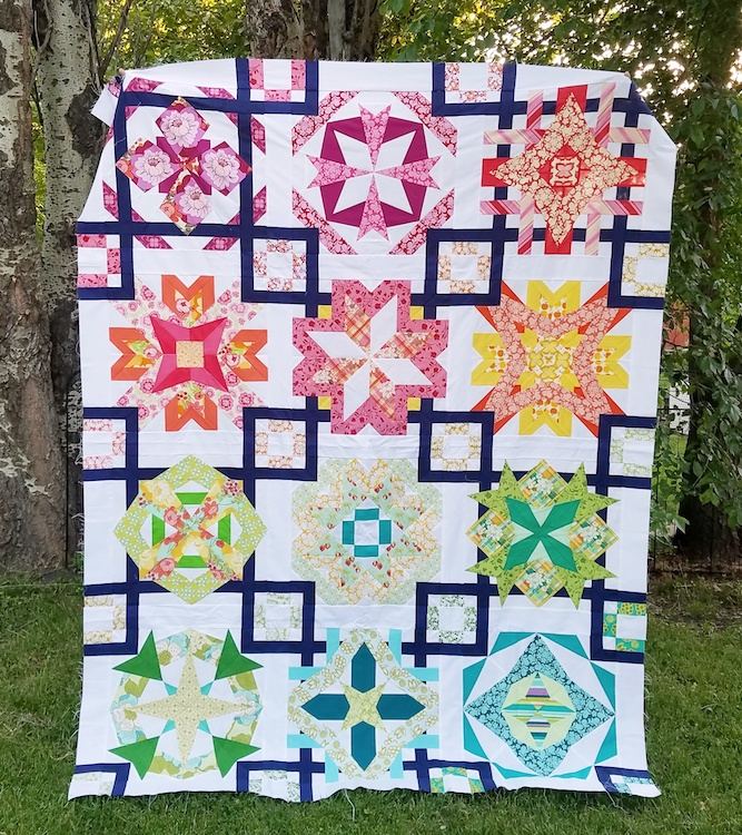 Block Of The Month Quilt Pattern Zodiac A Pattern Of Endless Inspiration Block Of The Month Quilt Patterns